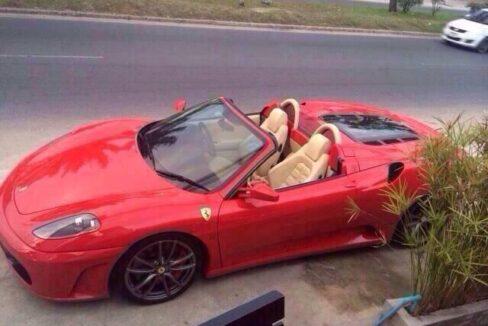 Ferrari F430 Spider in mint condition