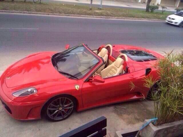 Ferrari F430 Spider in a mint condition