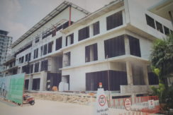 Isaan hotel with shopping center project