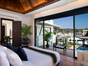 Water front living in a super deluxe 4 bed room villa