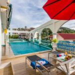 Charming 46 room swimming pool hotel in new design