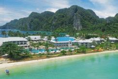 Thai paradise island resort