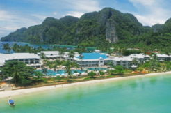 Thai paradise island resort