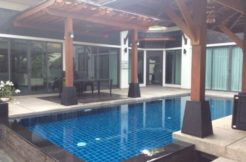 Thai style pool villa in laguna area