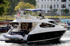 2011 sunseeker 63 ft that is located in Ao Po