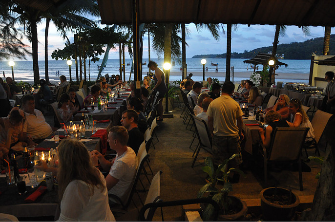 Great location restaurant business for sale in phuket