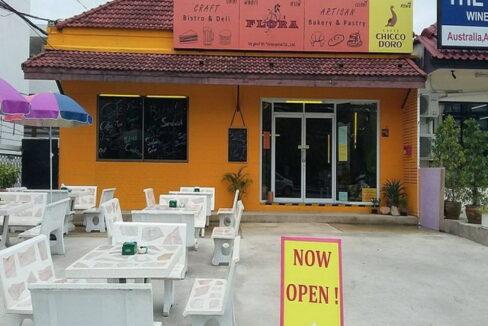 Stylish bistro and bakery refurbished in hua hin