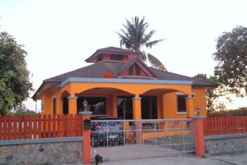 Tuscany style single house in Khon kaen