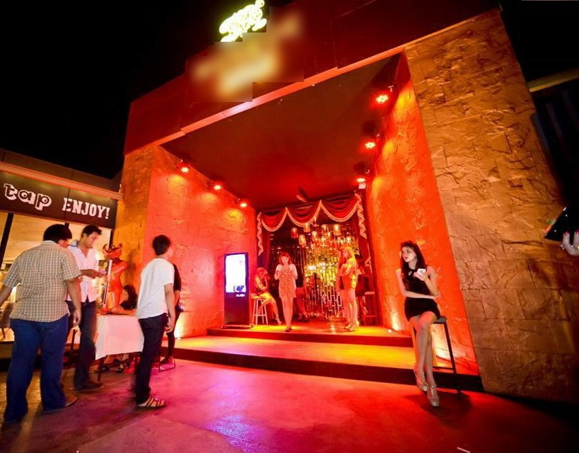 Large night club complex in large city
