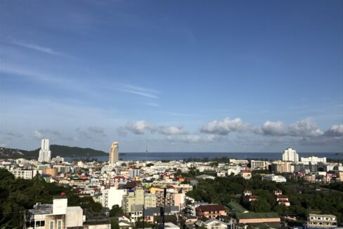 3 bed room patong pool villa with full sea view
