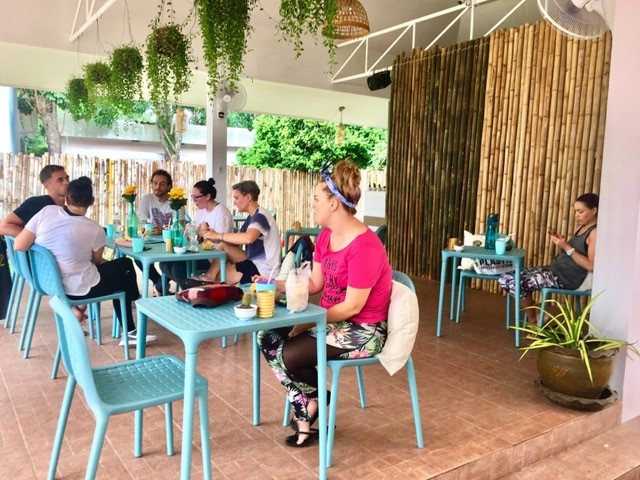 New health restaurant on Soi Ta-Ied