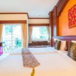 35 room hotel in a busy commercial area