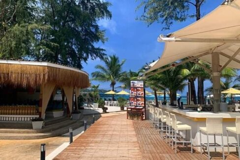 Award winning beach front Bang Tao restaurant