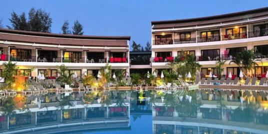 Large beach front phuket resort